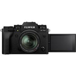 FUJIFILM X-T4 Mirrorless Digital Camera with 18-55mm Lens (Black)