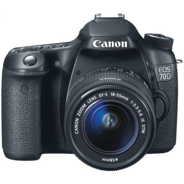 Canon Eos 70d W/18-135mm Kit